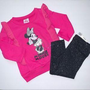 Disney Minnie Mouse 2pc matching set